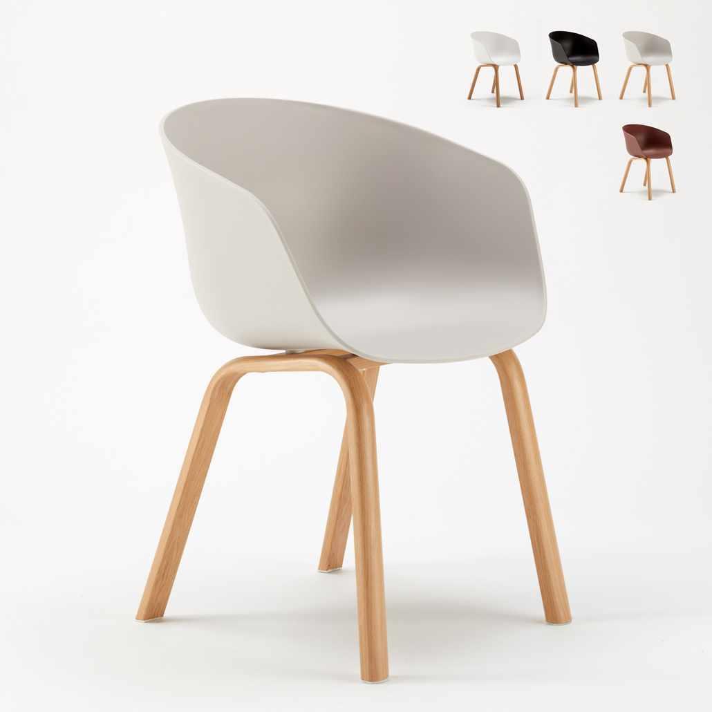 Scandinavische Design Stoelen.Stock 20 Stoelen Scandinavisch Design Metaaleffect Hout Dexer Voor