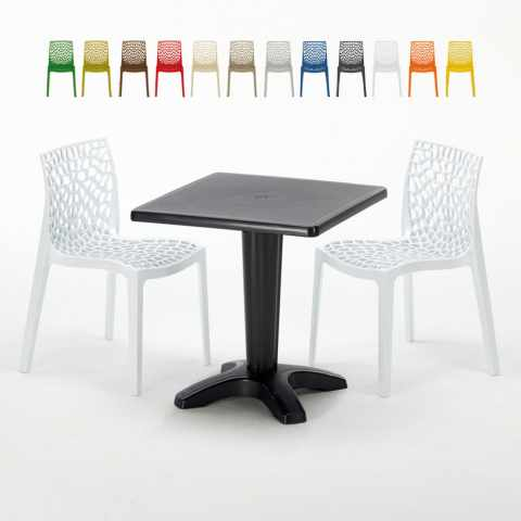 Tavolini E Sedie Da Esterno.Sedie E Tavoli Polyrattan Per Giardino Esterni E Bar Modelli E Prezzi