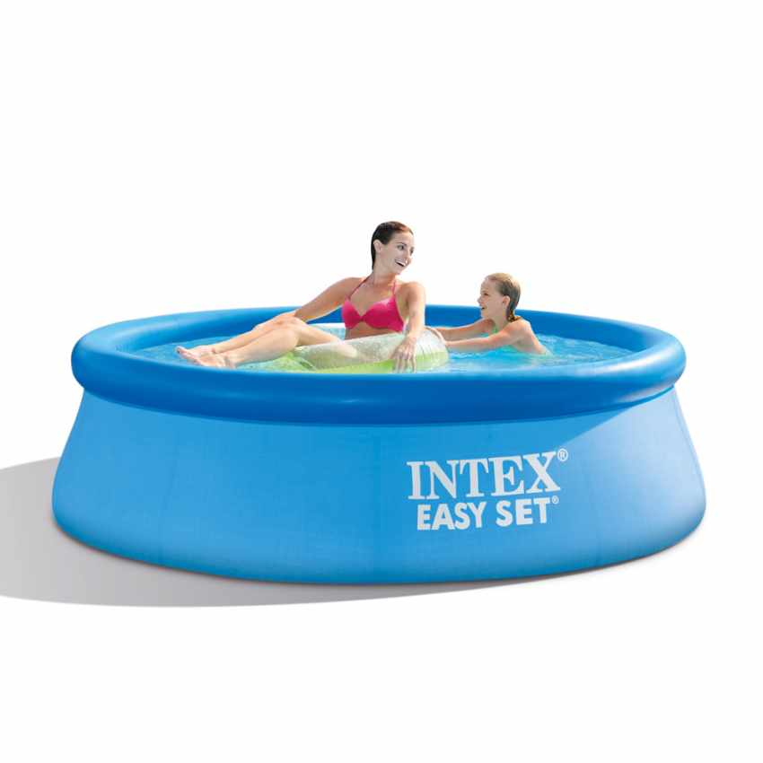 Intex 28112 Inflatable Round Above Ground Pool With Filter Pump 244x76