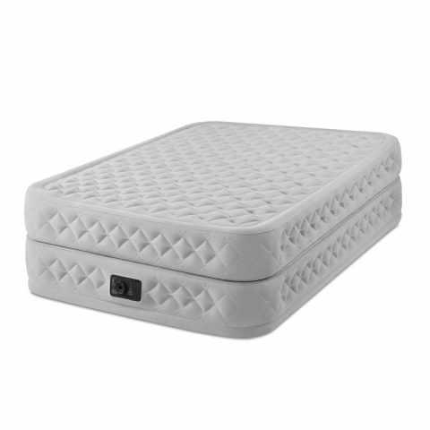 King Size cama colchón de aire cama de invitados camping vacaciones tamaño 152x203x33 cm