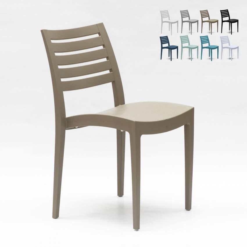 Grand Soleil Dondolo Da Giardino.Grand Soleil Polypropylene Dining Chair Garden Outdoors Stackable