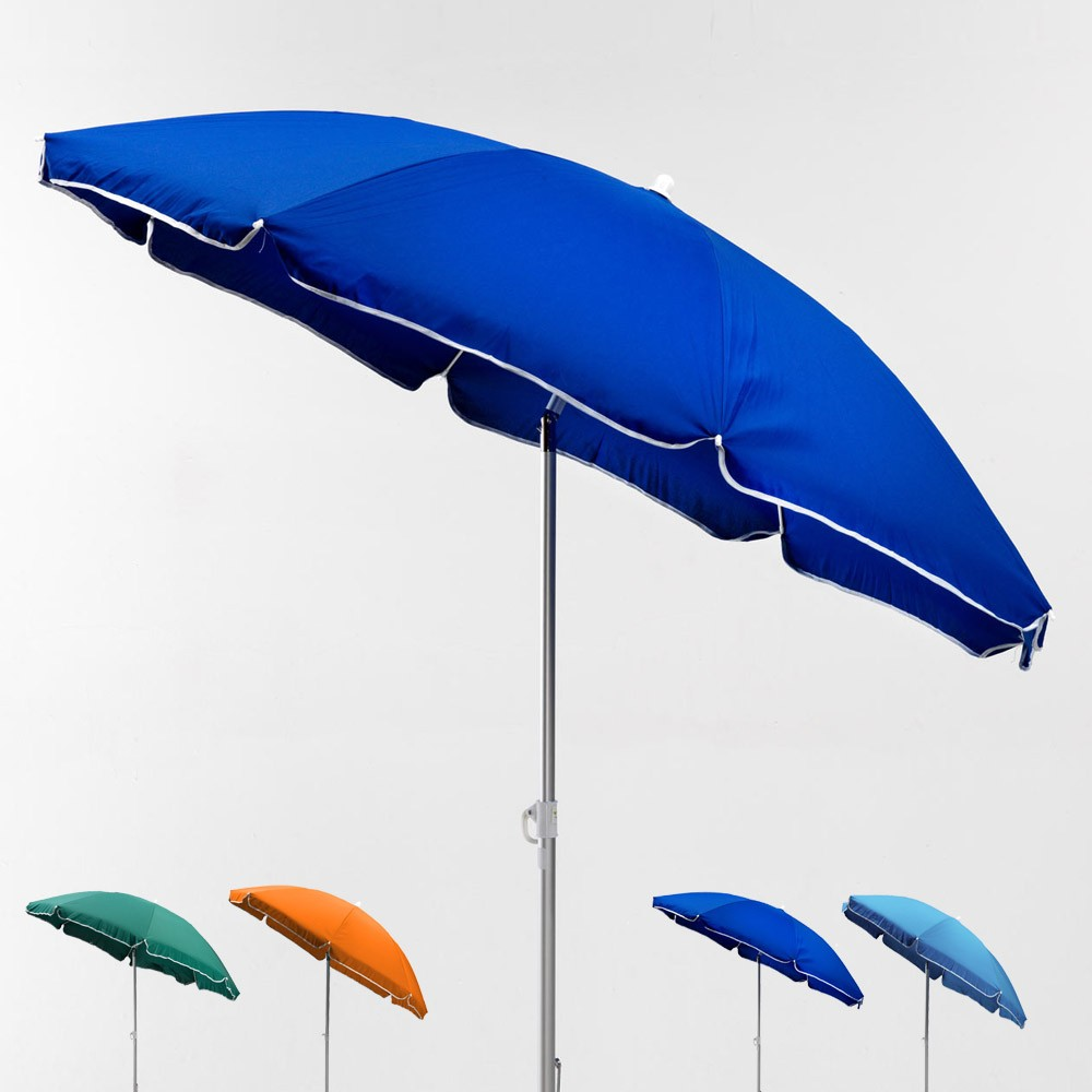 DYONISUS GiraFacile® 180cm Patented Cotton Beach Umbrella